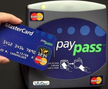 Бесконтактные платежные карты MasterCard PayPass
