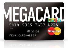Кредитная карта MegaCard. Условия, онлайн заявка.